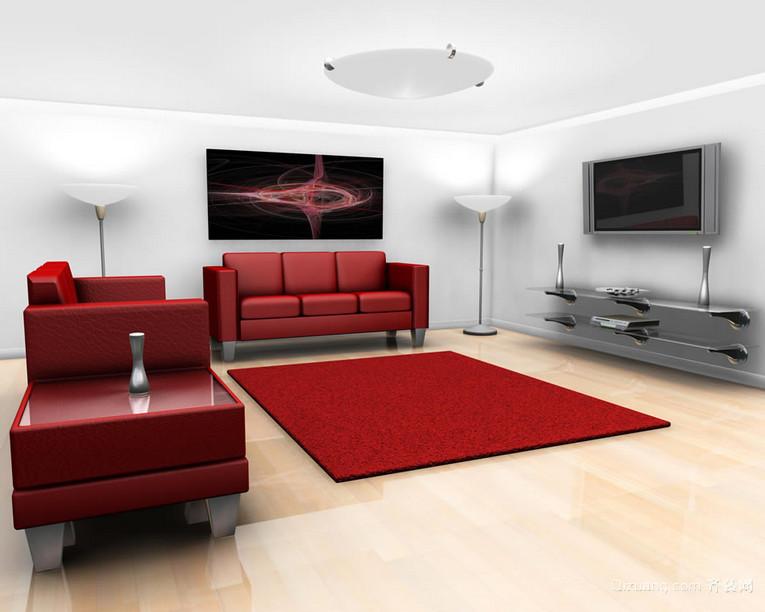 120平米大户型客厅装修效果图鉴赏
