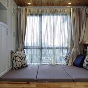 2016三居室时尚风格飘窗设计装修效果图