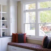 138平米精装飘窗设计装修效果图