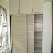 80平米小户型现代简约风格储物柜装修效果图