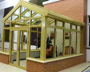 180平米美式别墅尖顶阳光房装修效果图