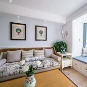 新房客厅沙发图片