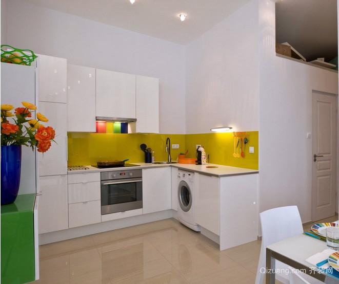 现代90平米小户型厨房装修设计效果图