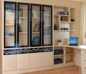 单身公寓时尚风格书柜图片大全