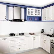 地中海简约80平米厨房装修设计效果图