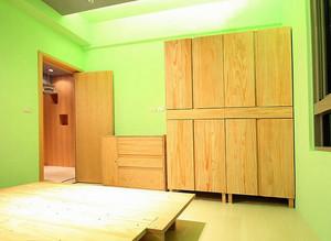 新房实木衣柜展示