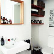 100平米房屋卫生间装饰