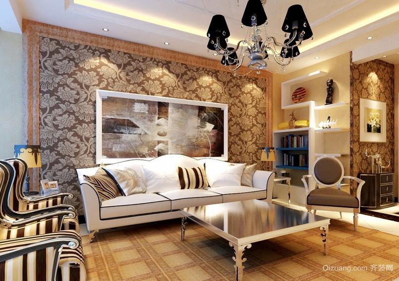 2016现代大户型欧式客厅装修效果图欣赏