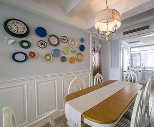 简约田园两室一厅新房装修设计效果图