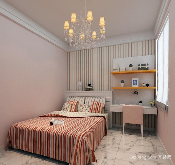 复式楼宜家风格房间布置装修效果图