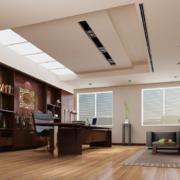 都市唯美的现代办公室装修实景效果图