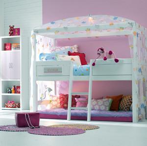 118平米田园风格儿童高低床效果图片