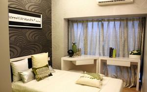 别墅轻快风格房间布置装修效果图