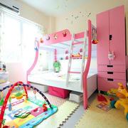 大户型精巧儿童高低床效果图片