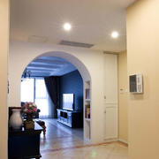 三室两厅简约风格客厅过道装饰