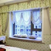 2016三居室简约风格飘窗设计装修效果图