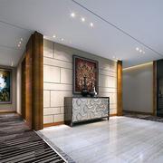 180平米现代简约风格商务酒店大厅装修图