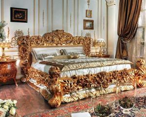 30平米别墅巴洛克风格卧室装修效果图