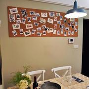 复式楼现代简约风格餐厅照片墙装修图