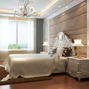 欧式别墅软包背景墙装饰