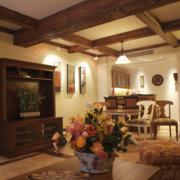 90平米北欧风格大户型客厅装修效果图欣赏