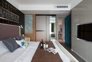 小清新风格100平米家居室内装修效果图