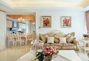 素雅田园风格90平米住宅家具装修图片