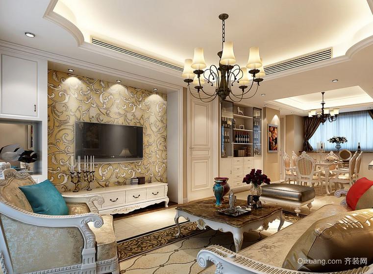 2016现代小户型欧式客厅装修效果图实例欣赏