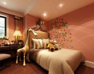 小户型温馨混搭儿童房装修设计效果图