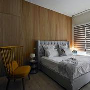 公寓简约卧室背景墙
