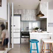 室内开放式小厨房