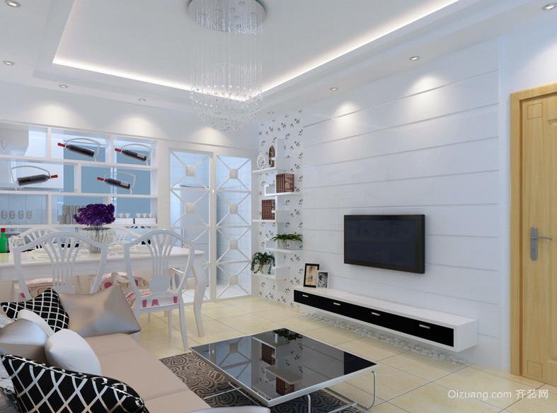 精美欧式40平米小户型客厅装修效果图鉴赏