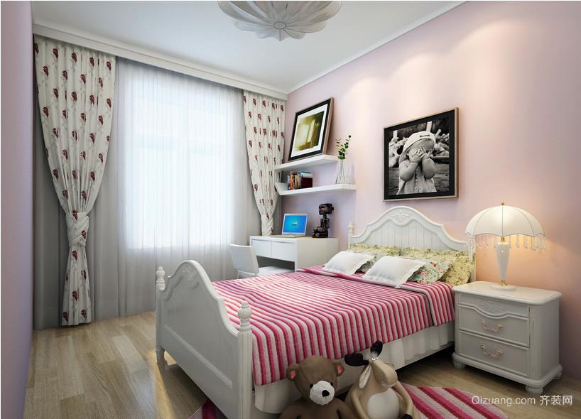 现代简约三室一厅儿童房装修设计效果图