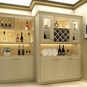 单身公寓清爽系列酒柜效果图片