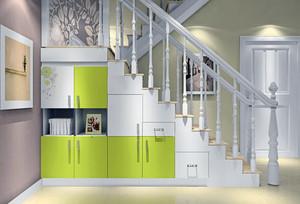 90平米大户型欧式室内楼梯设计装修效果图鉴赏