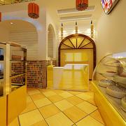 欧式风格奢华蛋糕店橱柜设计