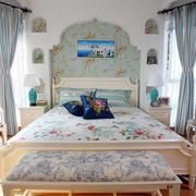 公寓田园地中海卧室