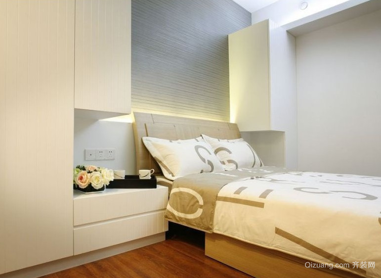 90平米精致的欧式大户型卧室装修效果图鉴赏