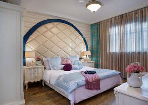 梦幻地中海70平米小公寓装修效果图