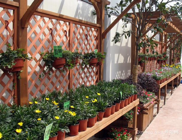 美式简约风格阳台菜园装修效果图