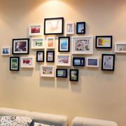 大户型精心打造照片墙设计效果图