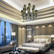 现代卧室吊顶设计图