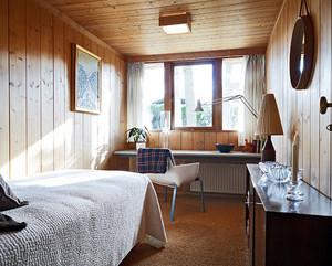 120平米美式简约风格实木别墅装修效果图