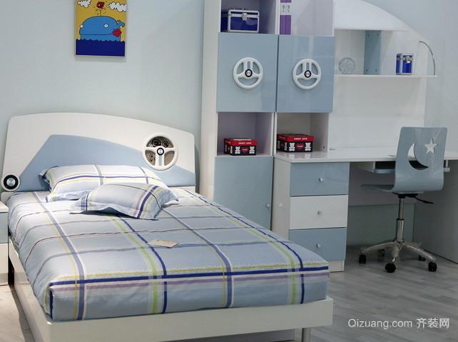 30平米现代简约风格卧室家具装修效果图