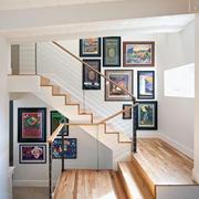 楼梯设计背景墙图