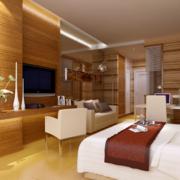 2016现代欧式单身公寓装修效果图鉴赏实例