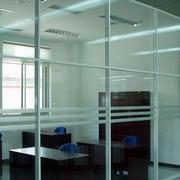 厂房办公室简约玻璃隔断装饰