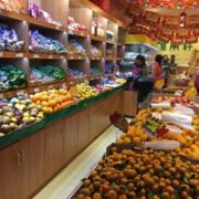 2016都市现代水果店装修效果图实例欣赏