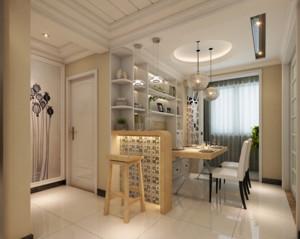110平米大户型欧式室内吧台装修效果图鉴赏