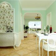 田园风格90平米家居家具装修图片